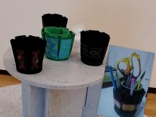 Gulnara Embergenova - Pencil Holders