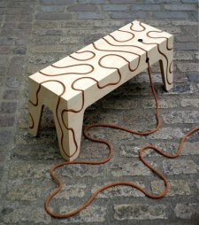 Yoav Reches - Rope Bench
